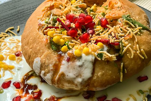 The Splendor of Raj Kachori, India's Most Kingly Snack