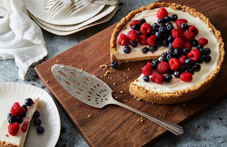 A Better No-Bake Cheesecake, Thanks to a Pretzel Twist