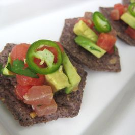 Ahi Tuna and Watermelon Ceviche