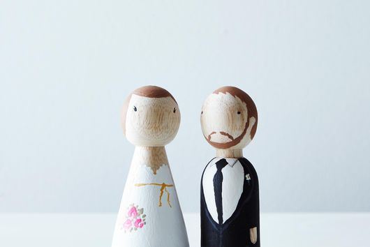 DIY Wedding Cake Topper Kit