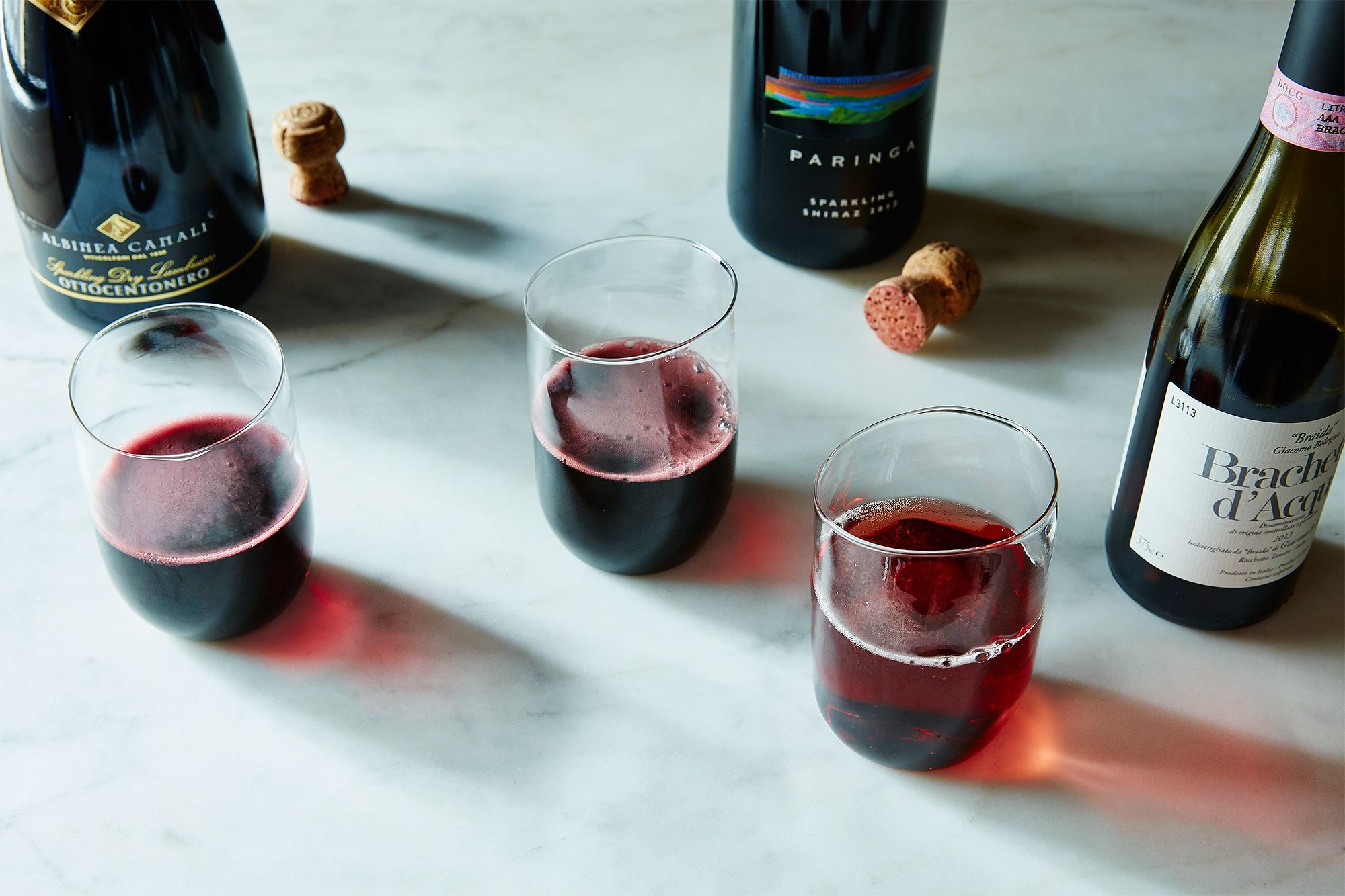 Yes There Are Sparkling Red Wines That Taste Good