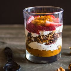 Pumpkin Pie Yogurt Parfait