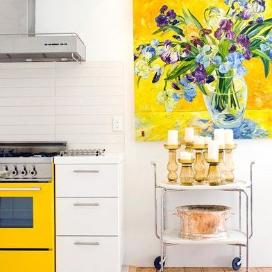 10 Splatter-Friendly Ways to Have Art in Your Kitchen
