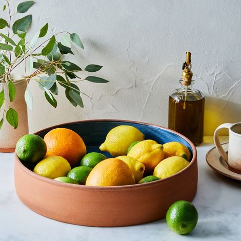 Handthrown Rustic Ceramic Bistro Platter