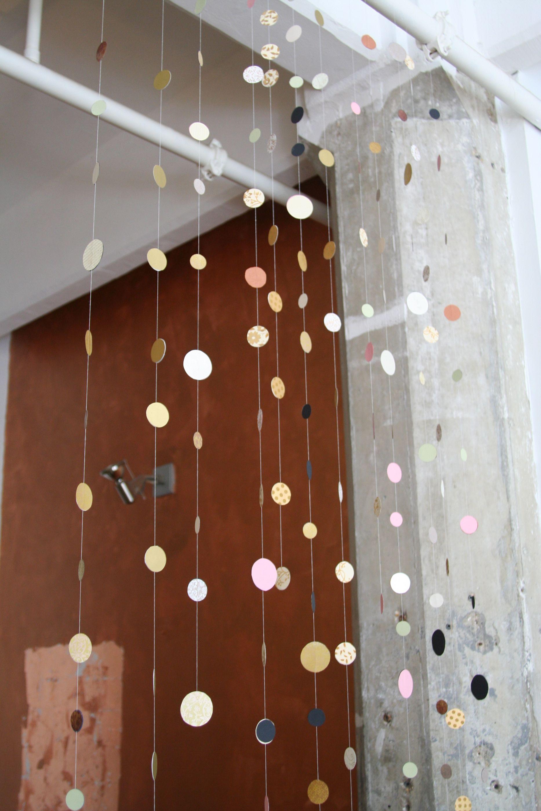 thingsiliketolookat.com: Handmade confetti garland