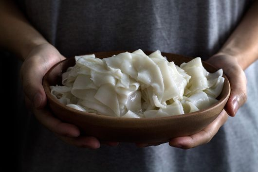 How to Make Xi'an Rice Skin Noodles