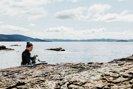 Analiese Gregory Cooks, Hunts, & Fishes at the Bottom of the World