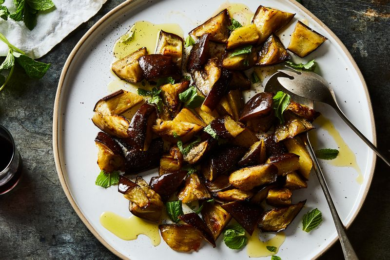 The Sheet Pan Salad That Made Me Stop Hating Eggplant, Finally