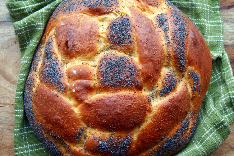 Honey tahini challah