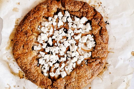 Fig, Ricotta and Pear Galette