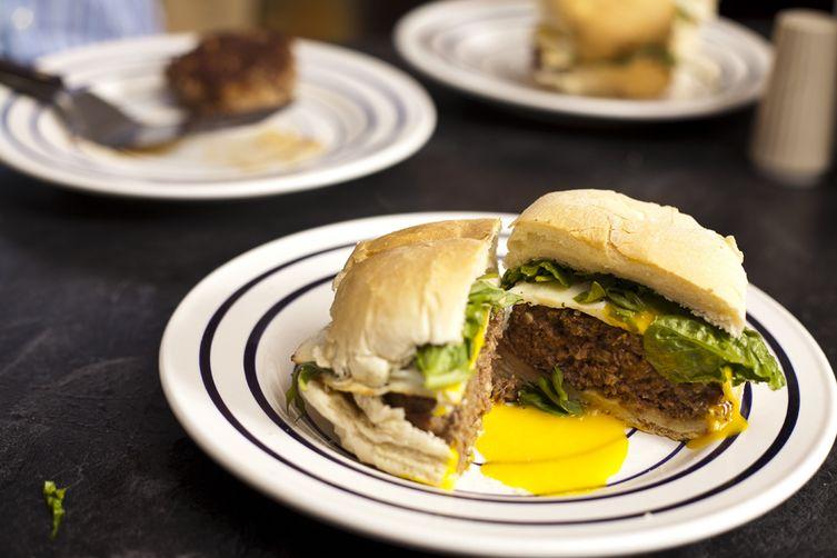 Moroccan Spiced Burger