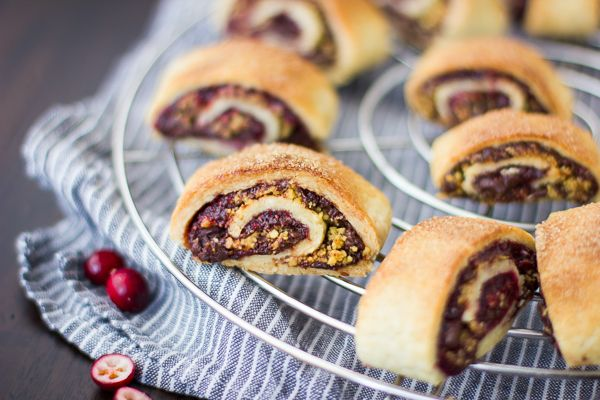 Rugelach with Cranberry Port Jam