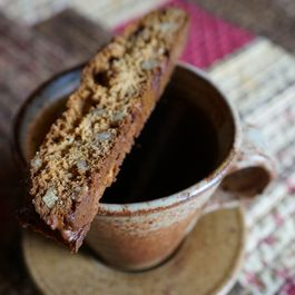 Einkorn Walnut Coffee Biscotti
