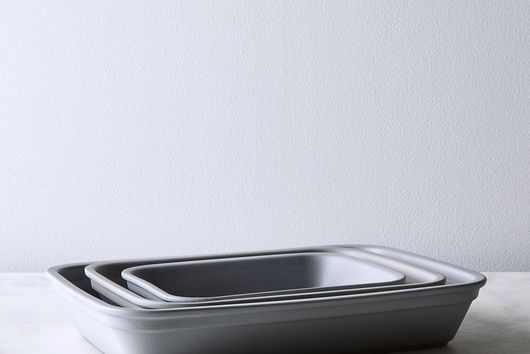 French Porcelain Rectangular Dish (Set of 3)