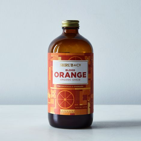Organic Blood Orange Shrub