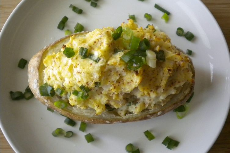 Devilish Twice Baked Potatoes