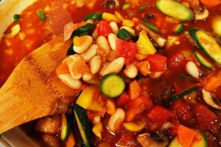 Cannellini Bean and Pepper Stew