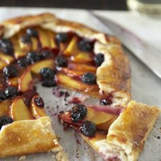 Blueberry & Peach Galette