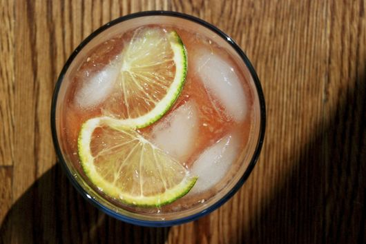 Blood Orange and Ginger Punch