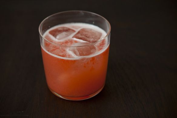 Strawberry Rose Spritzer on Food52