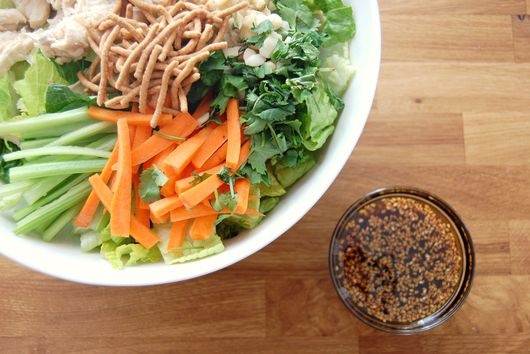 Tropical Chinese Chicken Salad