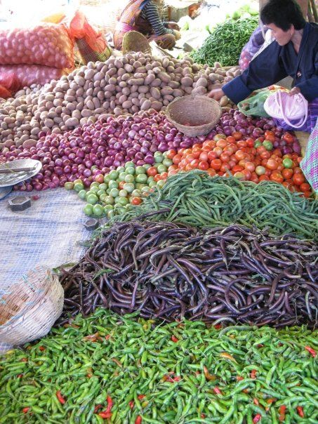 Veggies: Thimphu, Bhutan