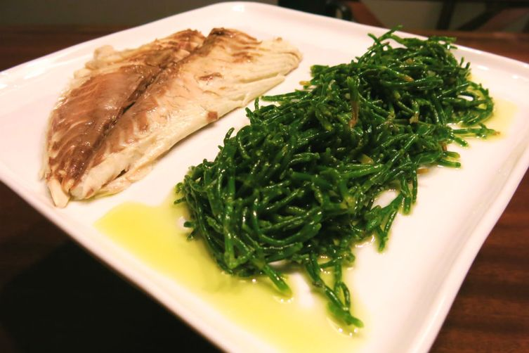Sea Asparagus Salad