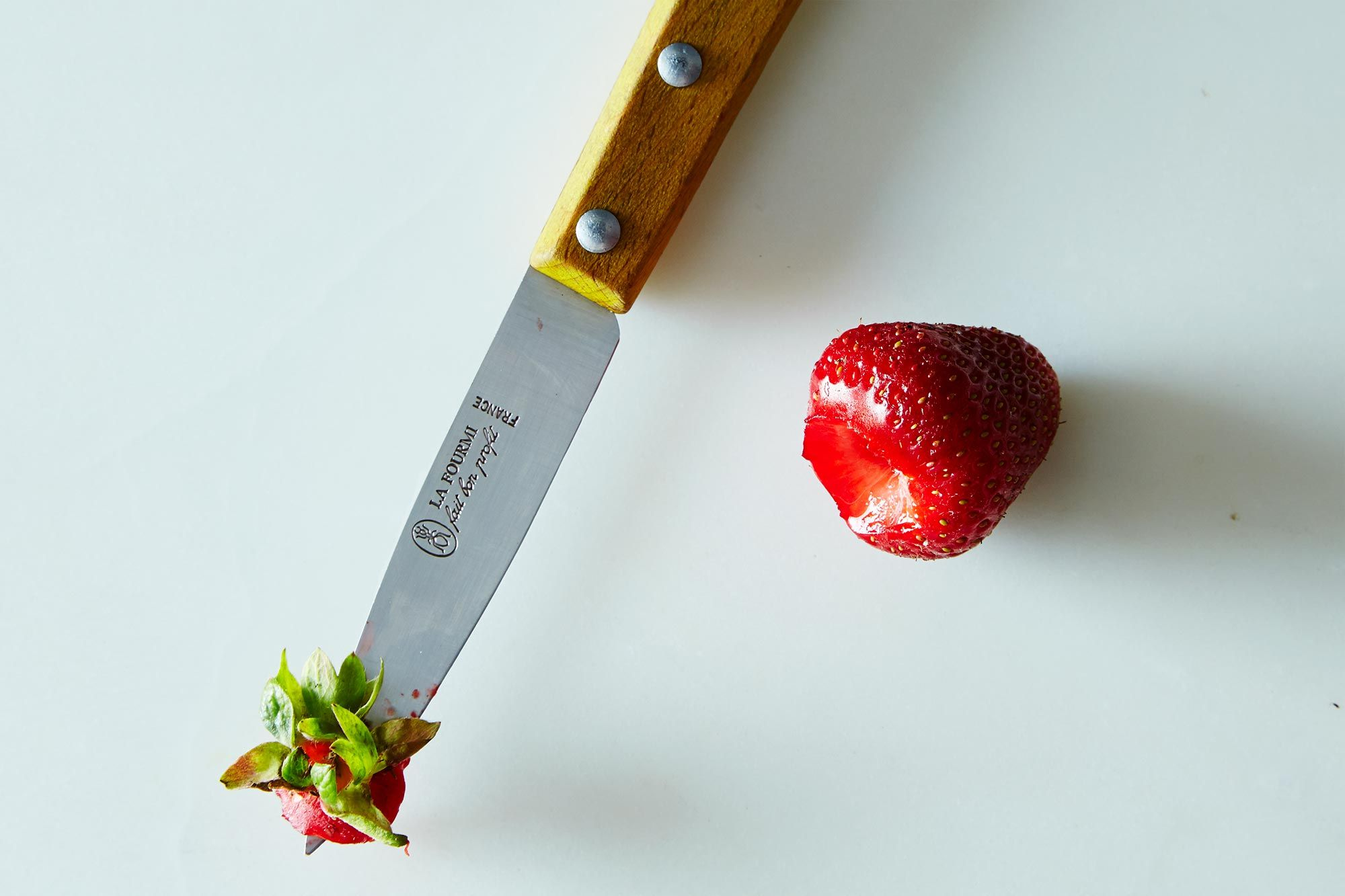 How to Quickly Hull Strawberries - Kitchen Confidence