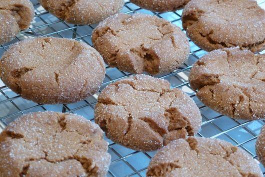 Nanny's Gingersnap Cookies