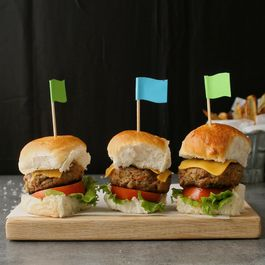 Beef and veggie sliders