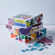 Modern Art 500-Piece Puzzles (Set of 3)
