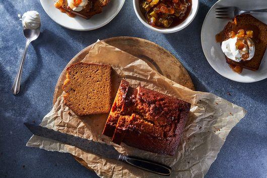 Burnt Miso Pound Cake