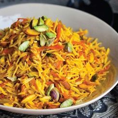 Louisa Shafia's Sweet Rice with Carrots and Nuts