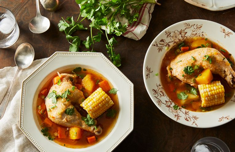 Mom's Caribbean-Style Chicken Soup Is a Celebration of Trinidad's Melting Pot