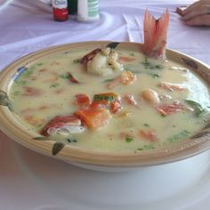 Nicaraguan Style Fish Soup (Sopa de Pescado)