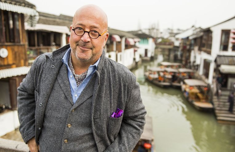 How Andrew Zimmern Is Teaching Kids About New Places, People & Food
