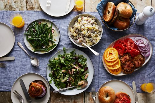 Break the Yom Kippur Fast With These Sundown Salads