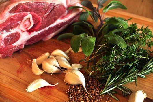 Slow Roasted Lamb Shoulder