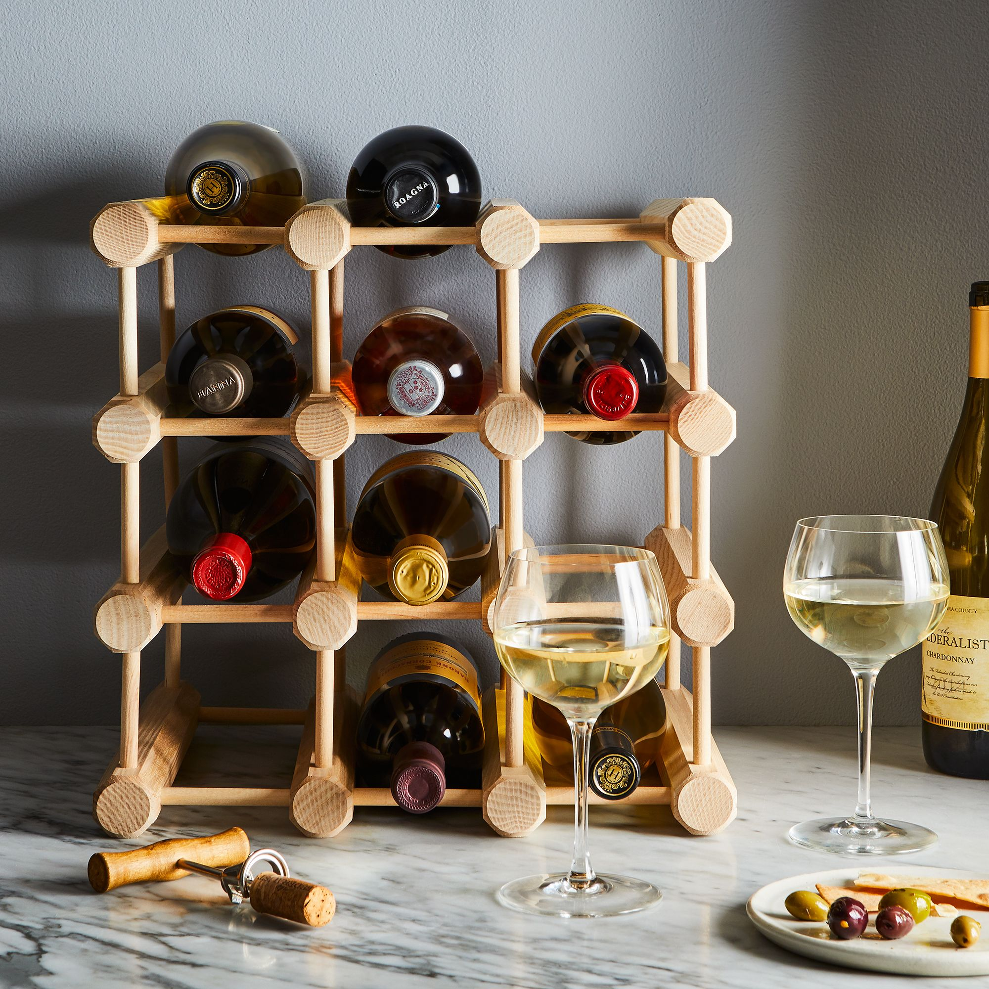 designs and wine jk townconnection table rack adams for img barrel crate wooden
