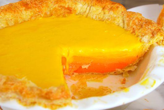 Striped Citrus Pie