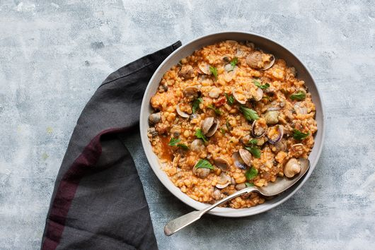 Sardinian Clam Stew With Fregola