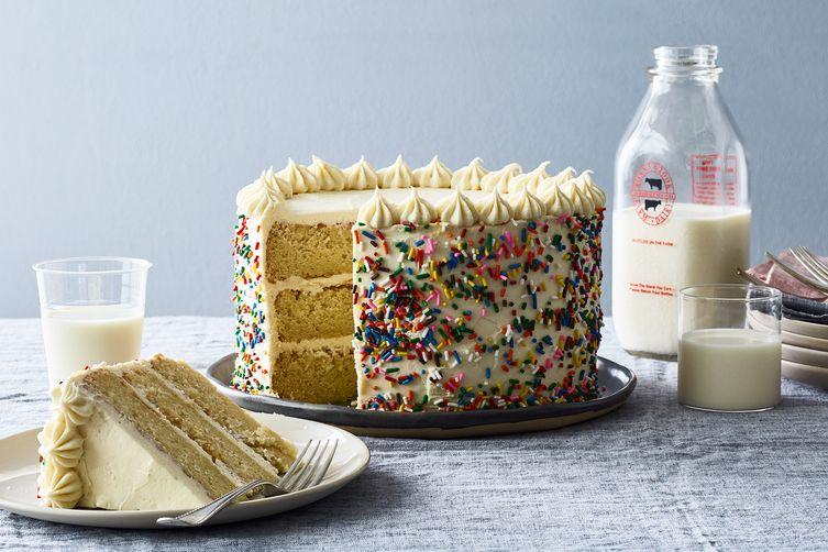 Butter & Scotch's Birthday Cake