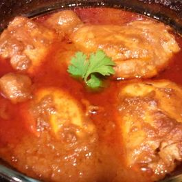 Easy Indian Chicken Curry
