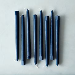 Tapered Navy Candles (Set of 8)