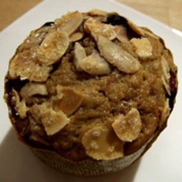 Blueberry Whole Wheat Muffin