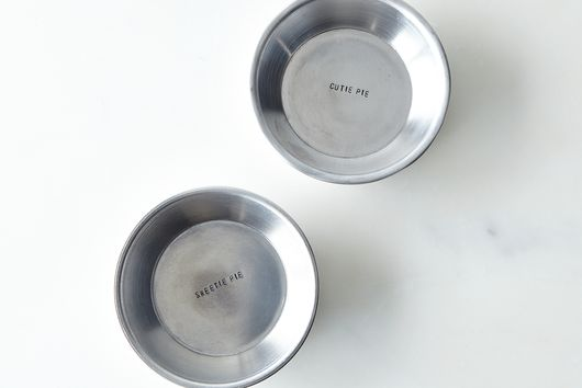 Mini Hidden Quote Pie Plate Set