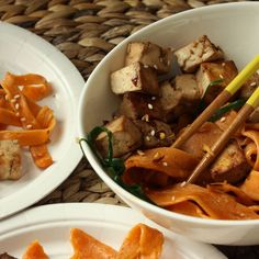 Spicy Tofu Pasta Salad