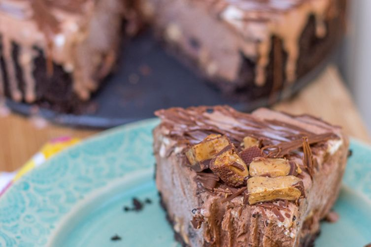 Bailey's Double Chocolate Ice Cream Cake