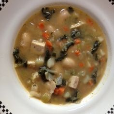Chicken, Bean & Kale Soup