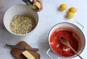 A Trick to Make Almost Any Pasta Sauce Brighter
